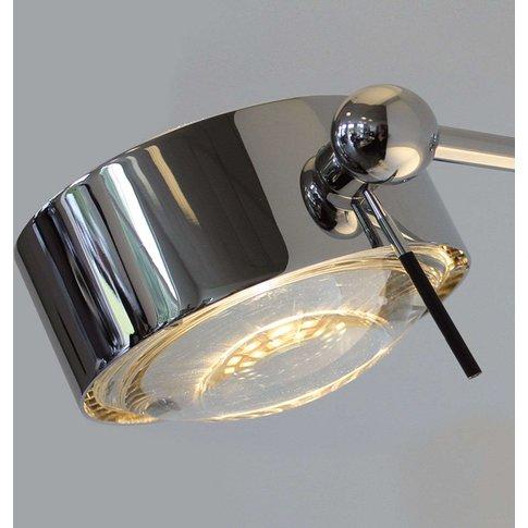 Wall Light Puk Sides, One-Bulb 10Cm Chrome
