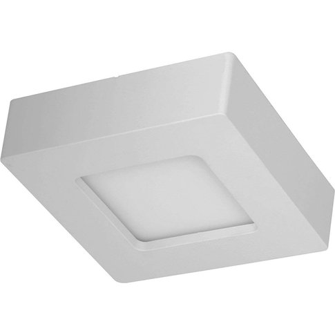 Marlo Led Ceiling Lamp White 3000k Angular 12.8Cm