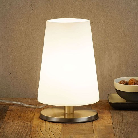 With Touch Dimmer - Table Lamp Ancilla Steel