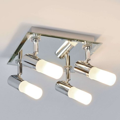 Angular Jilian Ceiling Lamp, 4-Bulb