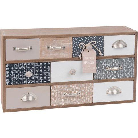 10-Drawer Storage Box With Print