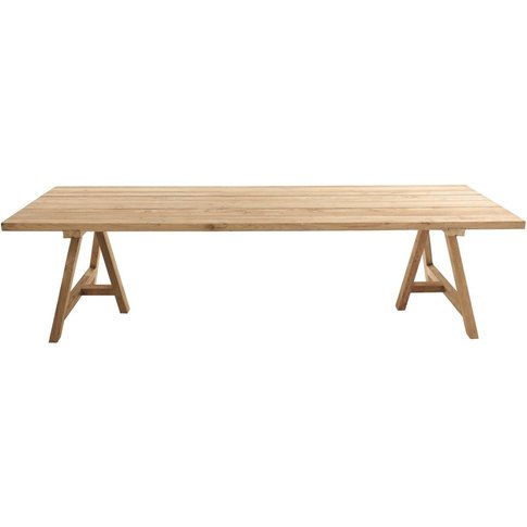 12/14-seater Recycled Teakholz garden table L300 Tecka