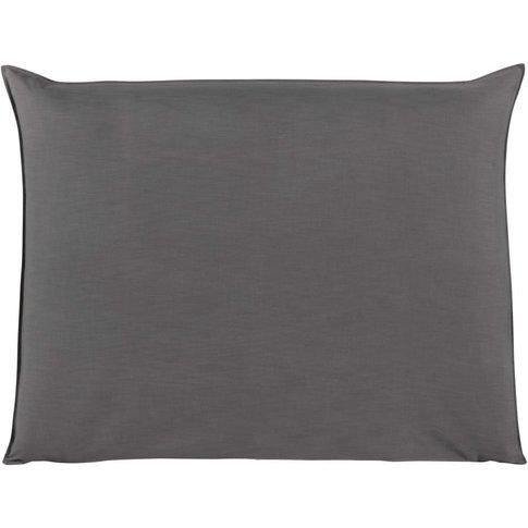 140cm headboard cover in pearl grey Soft