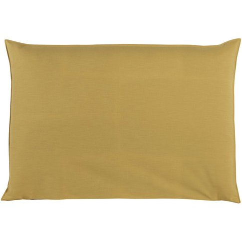 160cm headboard cover in mustard yellow Soft