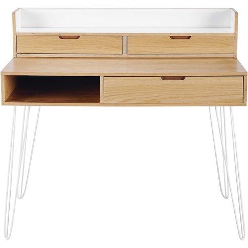 3-Drawer Desk Kirsten