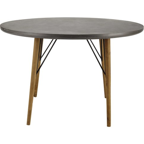 4-Seater Round Dining Table D120 Cleveland