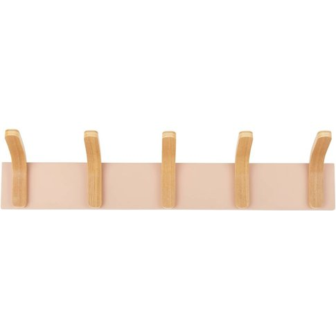 5-Hook Coat Rack