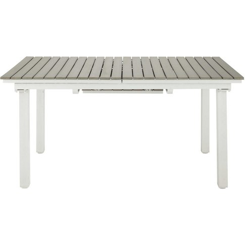 6-10 Seater Extending Garden Table in Imitation Wood...