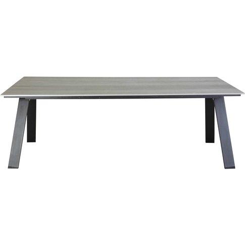 6-8 Seater Composite Garden Table W 220 cm Bermudes