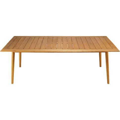 8-Seater Garden Table in Solid Acacia Frejus