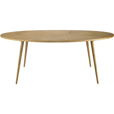 8-Seater Oval Dining Table L200 Origami