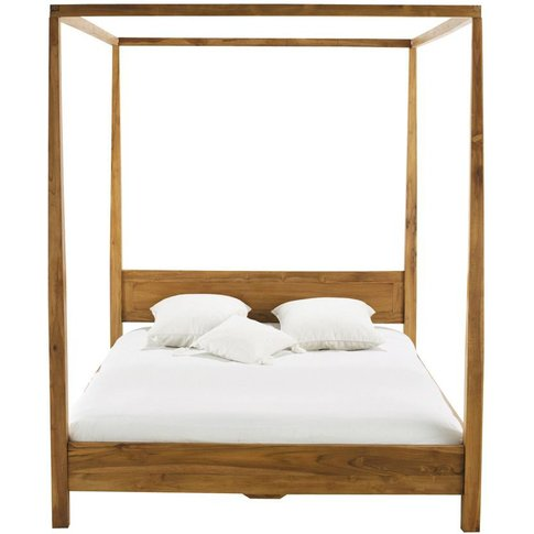 Acacia 160 X 200 King Size Four-Poster Bed Amsterdam