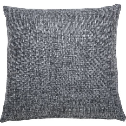 ANDY grey fabric cushion 45 x 45 cm