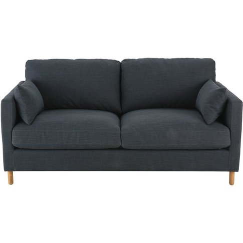 Anthracite Grey 3-Seater Sofa Bed Julian