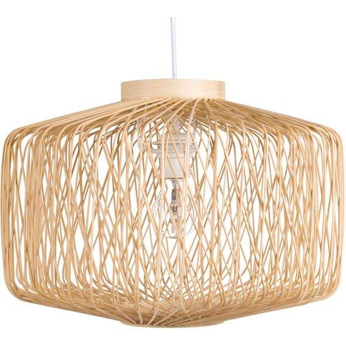 Bamboo Pendant Light D44