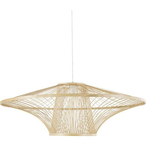 Bamboo Pendant Light D89
