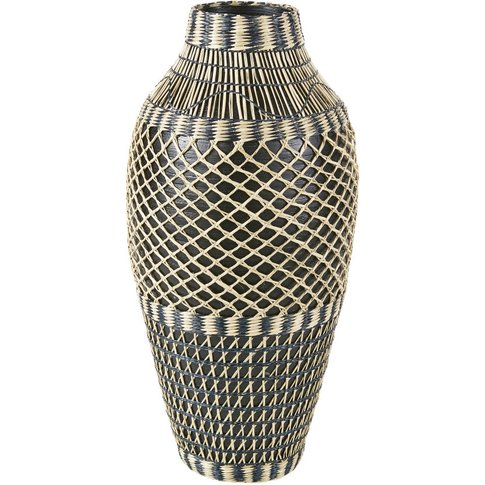 Black And White Bamboo Vase H60