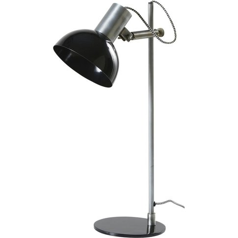 Black Metal Adjustable Desk Lamp