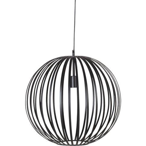 Black Metal Wire Sphere Pendant Light D51