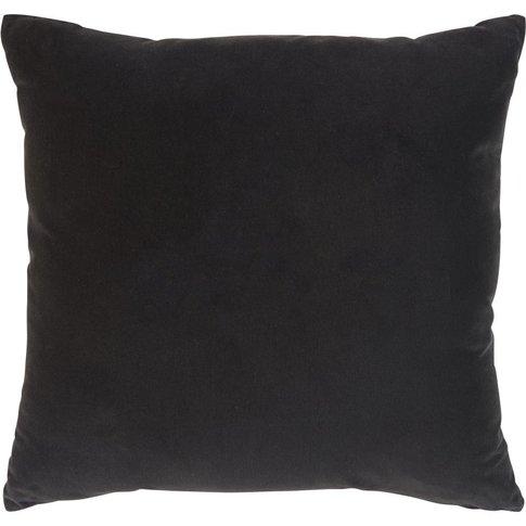 Black Velvet Cushion 45x45