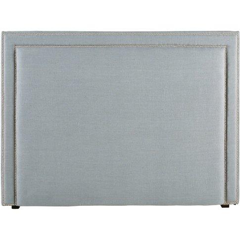 Blue Grey Linen 160 Cm Headboard Elise
