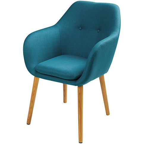 Blue Vintage Armchair Arnold