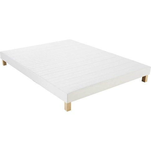 Box spring bed base 140x190 Philibert