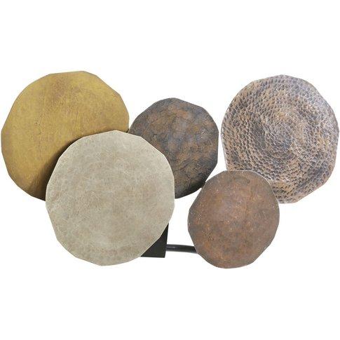 Bronze Metal Discs Wall Lamp