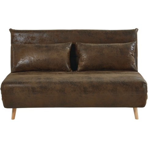 Brown Double Day Bed Sofa Nio