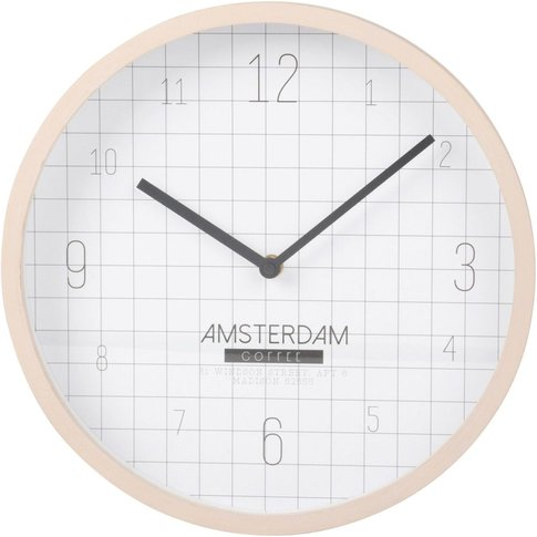 Checked Clock