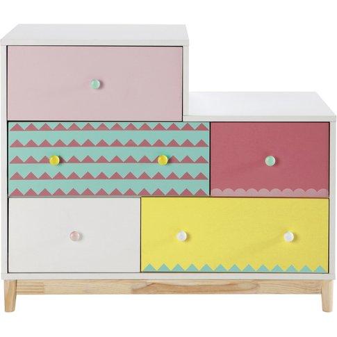 Child's Chest of Drawers, Multicoloured Berlingot