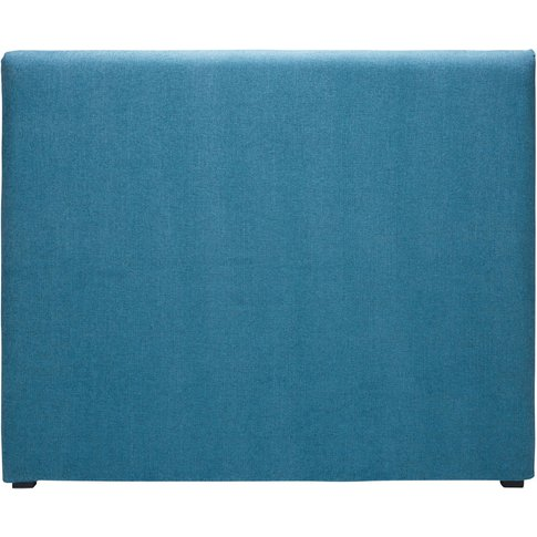 Cobalt Blue Fabric 140 Headboard Cover