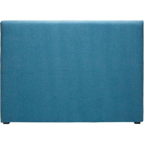 Cobalt Blue Fabric 160 Headboard Cover