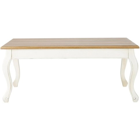 Coffee Table In Cream W 110 Léontine