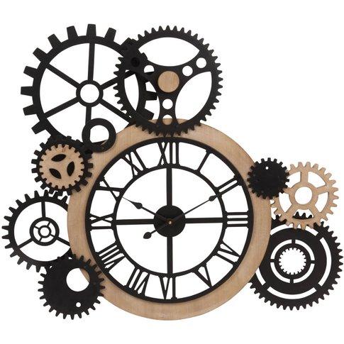 Cog Clock 79x68
