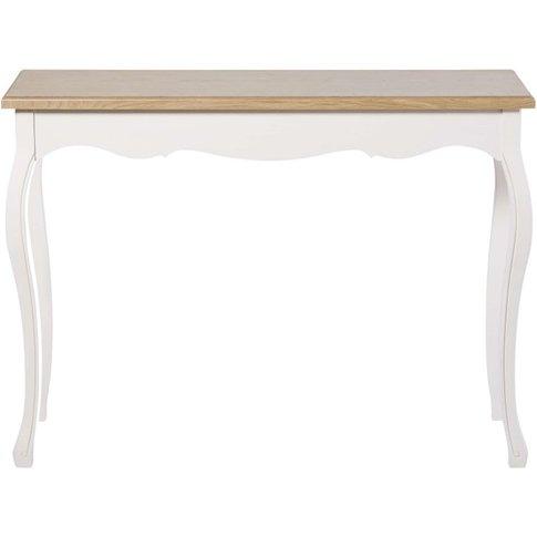 Console Table In Cream Léontine