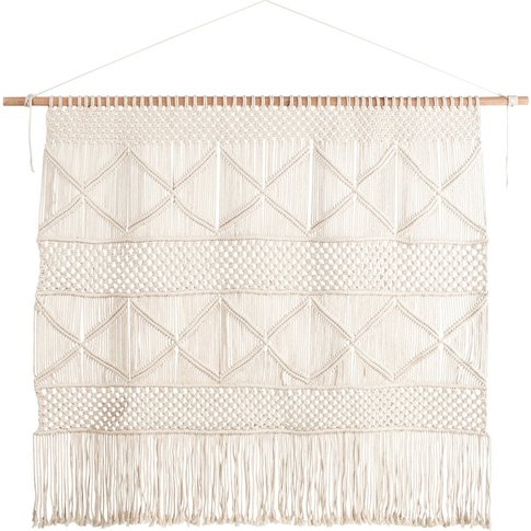 Cotton And Cord Macramé Headboard