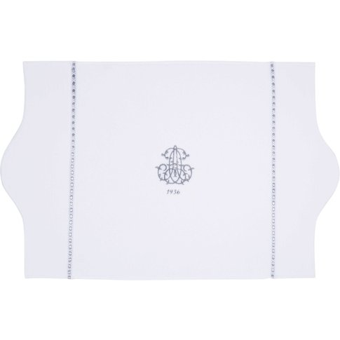 Cotton Bath Mat In White 50 X 80cm