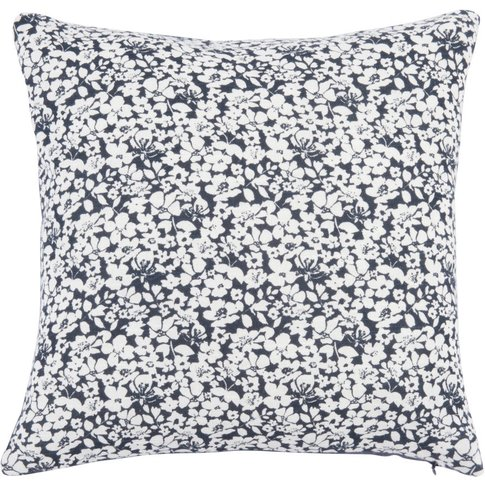 Cotton Cushion Cover With Floral Pattern 40x40