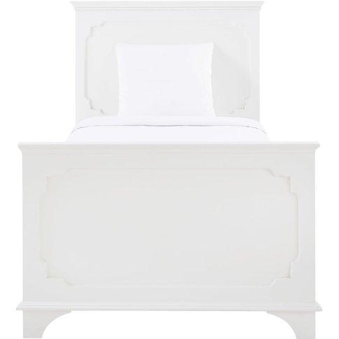 Cream Bed 90x190 Idylle