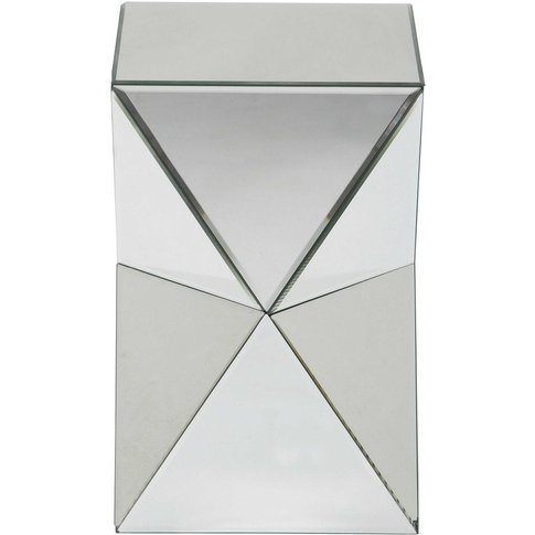 Diamant Mirror Side Table W 33cm