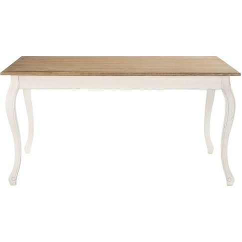Dining Table In Cream L160 Léontine