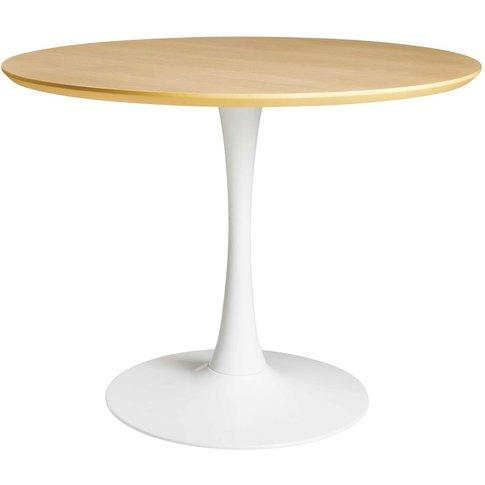 Dining Table L 100 Cm Circle
