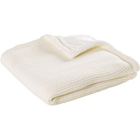 Ecru Blanket 77x77