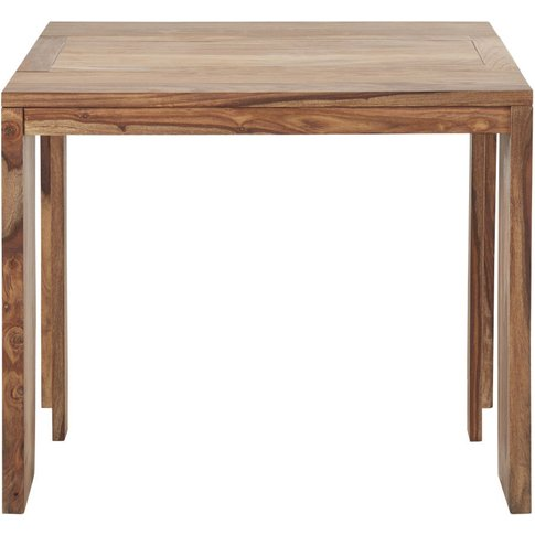 Extendable Console Table In Solid Indian Rosewood Fo...