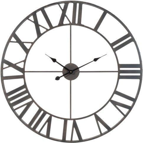 Farmington Metal Clock D 83cm