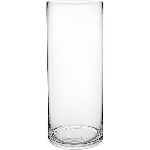 Glass Cylinder Vase H 40cm