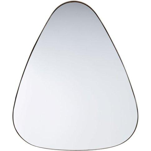 Gold Metal Mirror 80x101