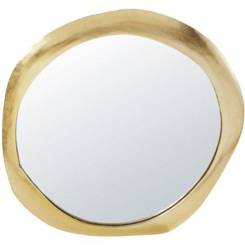 Gold Metal Mirror 85x89