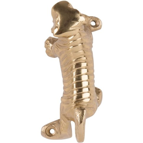 Gold Metal Tiger Coat Hook